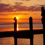 Watching an Islamorada Sunset.