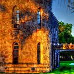 The Abandoned Castle_House at Sunrise