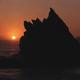 Sunset Near Big Sur, California