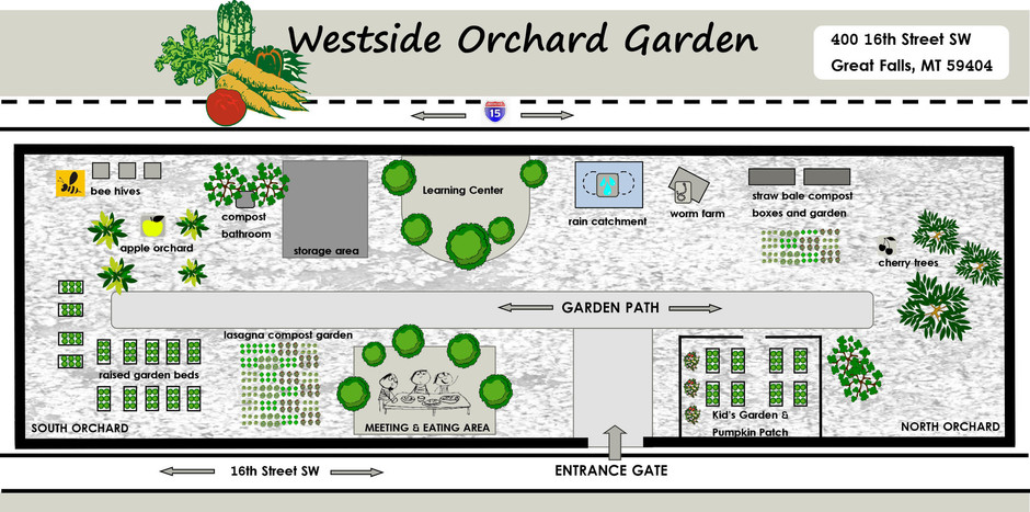 The Westside Orchard Garden Is Our Main Focus For 8 Months Of The Year. Our  Annual Harvest From This 2.2 Acre Former City Park Is Dedicated To Meals On  ...