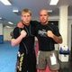 Me & Kit BJJ No Gi training