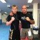 Me & Kit BJJ No Gi training