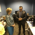 Linda Marie McMahon, SBA Administrator Visit to the TREX