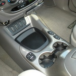Sequoia- Center console after