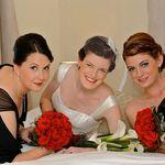 Pheonix and her bridesmaids