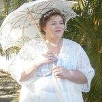 Beverley our beautiful bride.