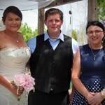 Congratulations Danielle and David.