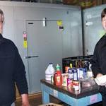 Volunteers Mike and Dennis