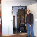 Freezer Purchased with 2011 CDBG Grant