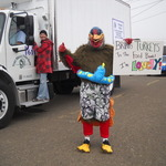 Tryptophan Dan in the Paul Bunyan Days Parade 2012