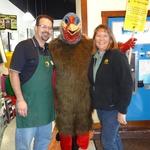 Turkey Dan with Tim & Jennifer Bosma of Harvest Market