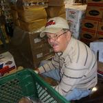 Pat Stamper Bagging Potatoes