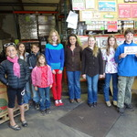 Spartan 4-H Club of Mendocino donate food to the Food Bank