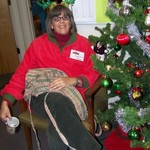 Elf Nancy, takes a well-deserved break
