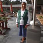 Angela at Volunteer Appreciation Lunch