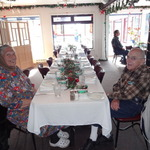 Laura and Bill at our Volunteer Appreciation Lunch