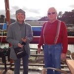 Volunteers Maureen and Pete