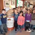 Redwood Elementary Food Drive 2013