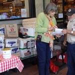 Nancy with Safeway Shopper