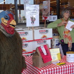 Turkey Marty and Nancy at Safeway