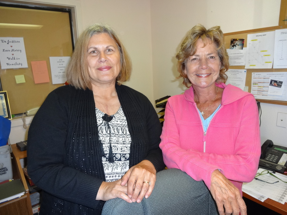 Welcome new employees, Theresa Kleckner and Debby Nicolson