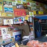 Joe's Famous Wall of Splendid Produce Crate Art