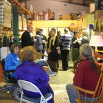 The Food Bank Hosts a Chamber of Commerce Mixer