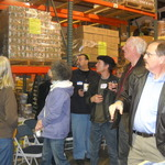 Chamber of Commerce Members Tour the Food Bank