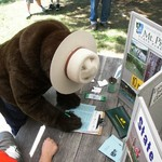 Smokey Bear Joins The Friends Group
