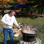Making The Apple Butter