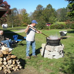 Getting the Apple Butter started