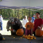 Modern Pumpkin Carving too