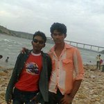 me and chiranjeevi (my friend)