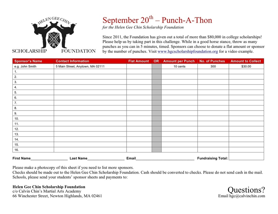 Punch-A-Thon image