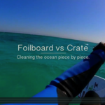 Foil vs Crate: Cleaning the ocean piece by piece
