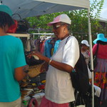 Summer Festival 2012 Shopping with the vendors