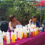 Oils sure smell nice! Summer Festival 2012