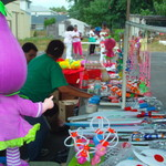 Vendors support the Summer Festival 2012