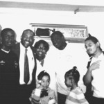 Councilman Rice and Youth Volunteers