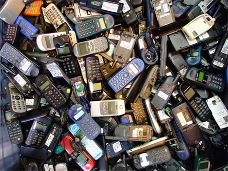 Old Cell Phones - Image