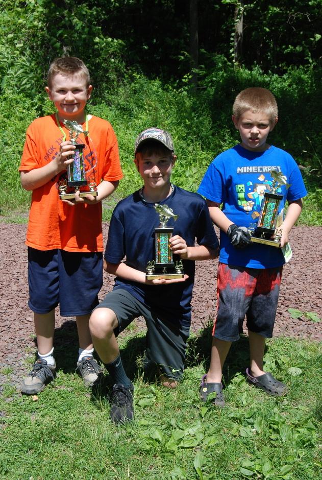 Kids Reel In Trophies