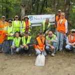 Volunteer work crew