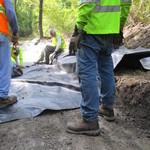 Repairing wet area