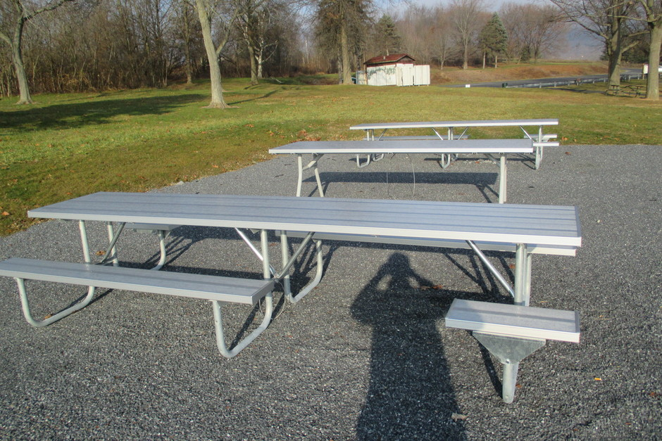 Picnic Tables - Huge picnic table