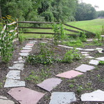During 2007 and 2008, we re-vamped the old garden, giving it a n