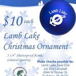 Lamb Lake Christmas Ornaments for Sale