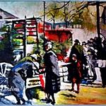 Washington DC, Farmer's Market, 1880