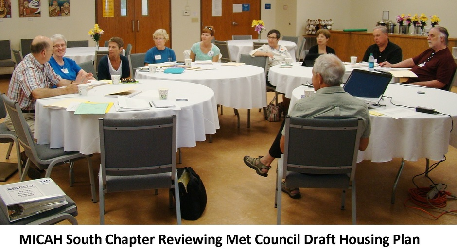 MICAH South Chapter Reviewing Met Council Draft Housing Plan.JPG