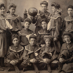 1904 Girls Basketball the Calithumpians