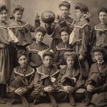 1904 Girls Basketball the Calithumpians
